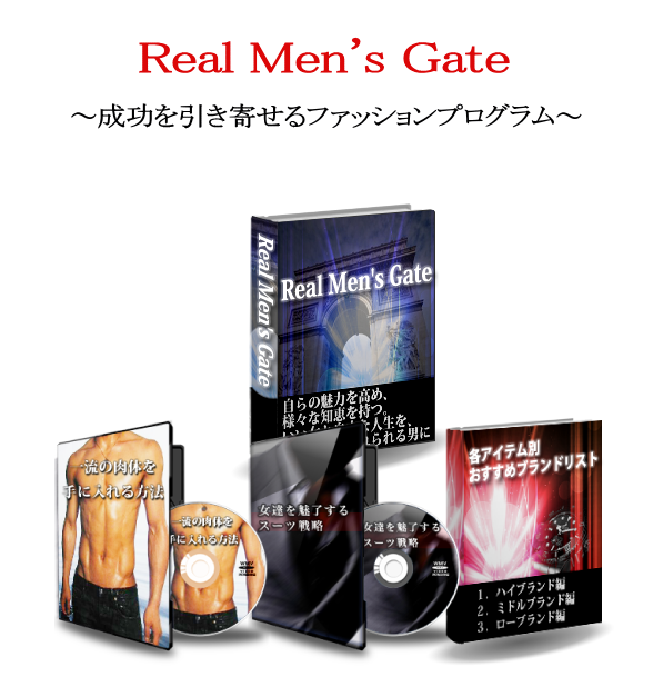 Real men's gate